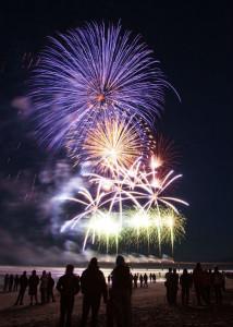 Ocean Isle Beach Fireworks on July 4th