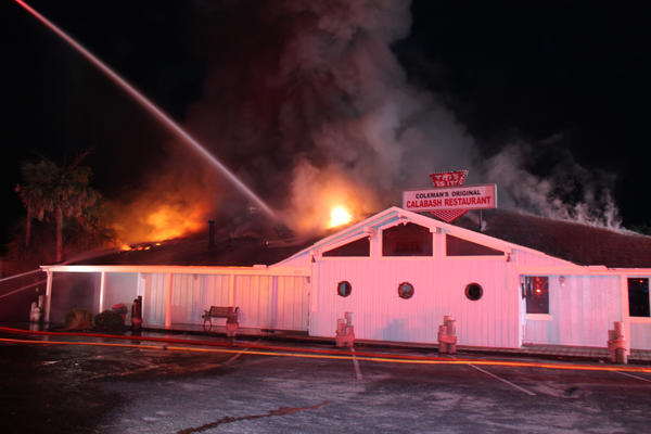Calabash Restaurants Rise From The Ashes Calabash Nc